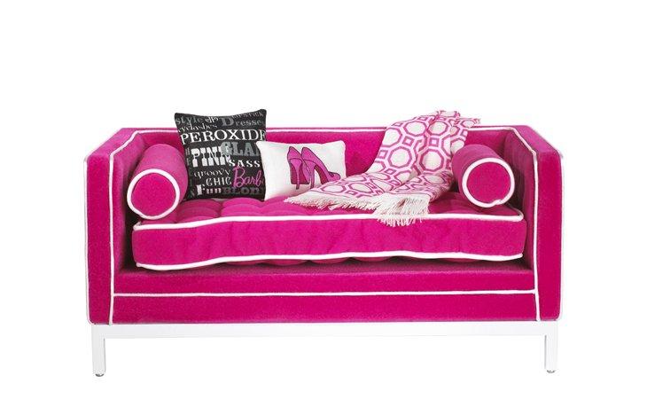 Угловой диван для барби 167